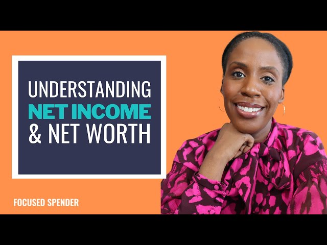 How to Build Wealth   Net Income and Net Worth Explained