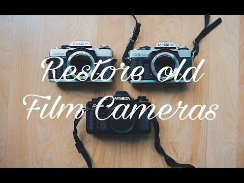 How To Restore Old Film Cameras! thumbnail