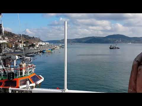 Ozelmarine Gyrocompass Service at Bosphorus Strait