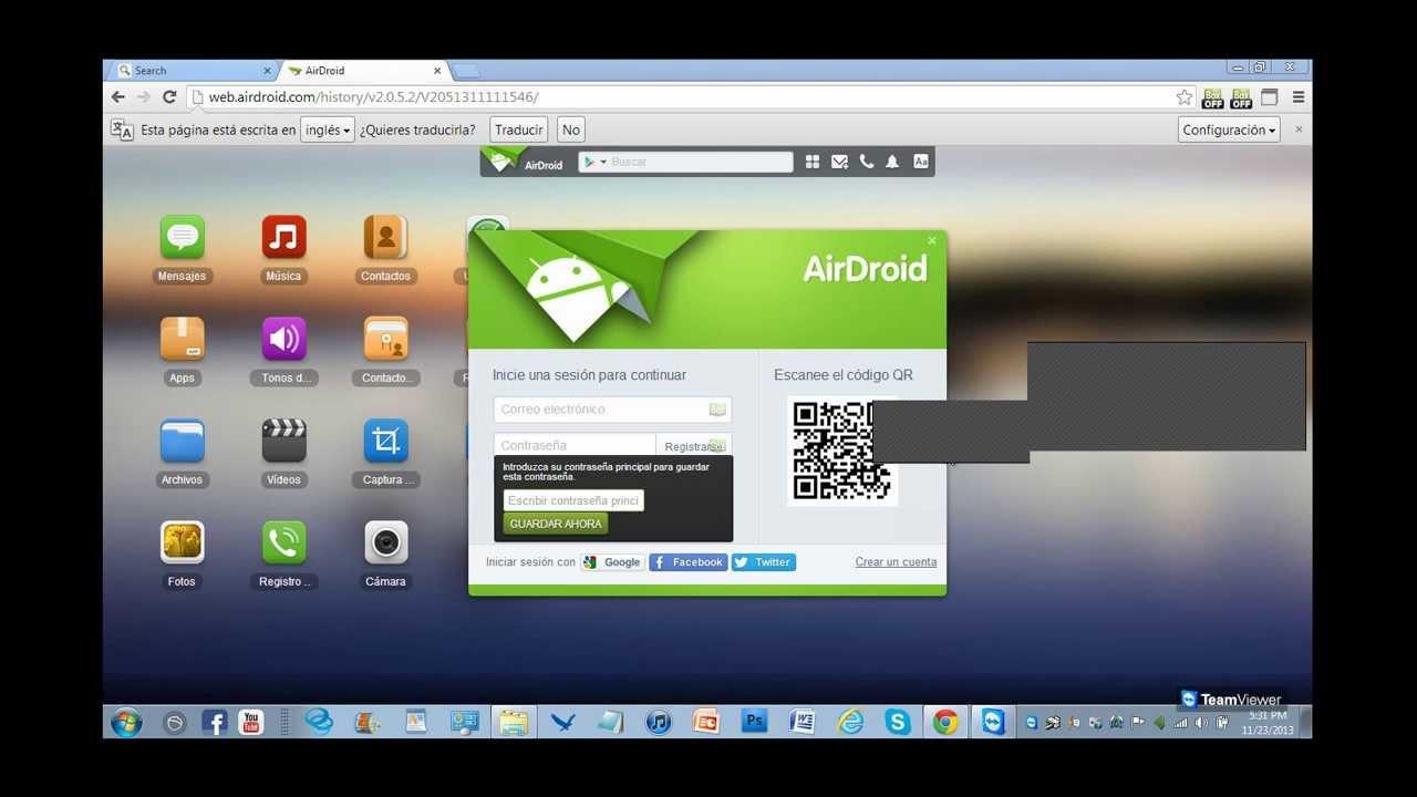 Web airdroid com lite