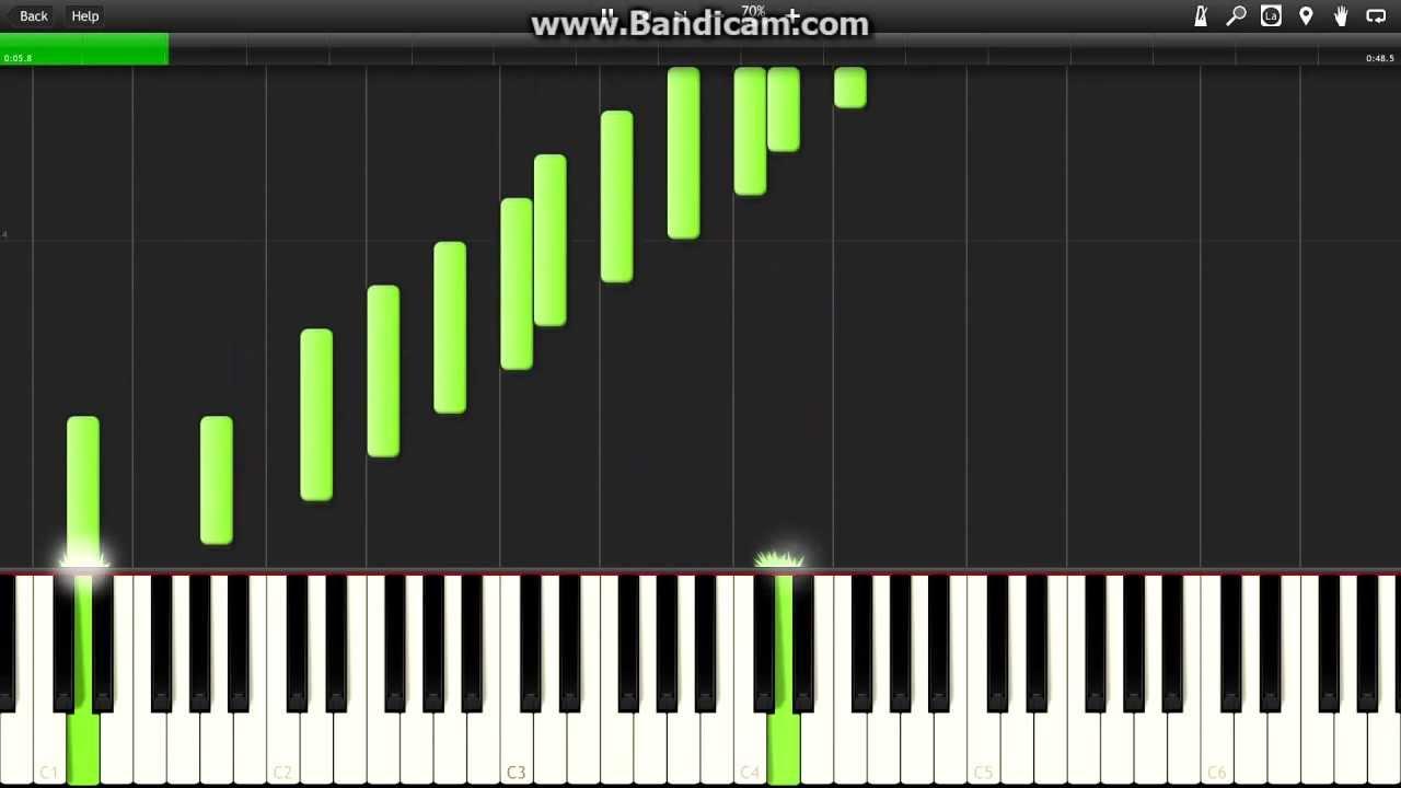 ноты для фортепиано песня сгорая плачут свечи