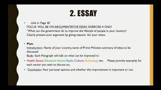 Grade 10 st english work instructions 1