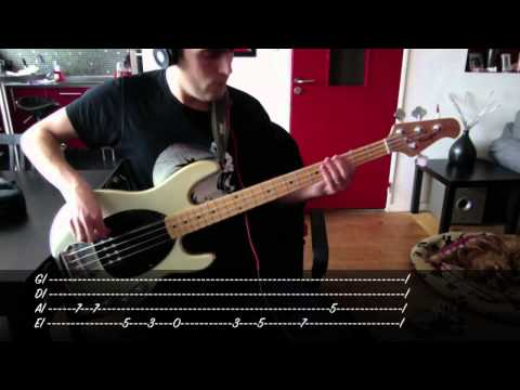 Audioslave  Cochise  Bass  & Tab
