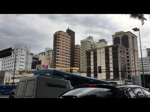 Arriving in Belo Horizonte Brazil