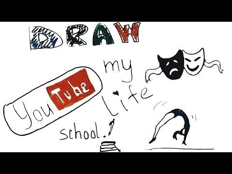 DRAW MY LIFE / Нарисуй мою жизнь | Kelly