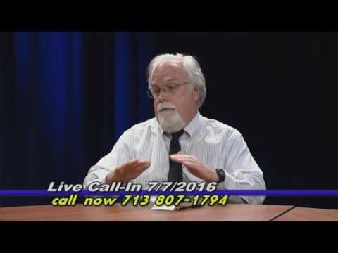 Public Affairs Public Access 7-7-16  Flood Control in the Houston Area