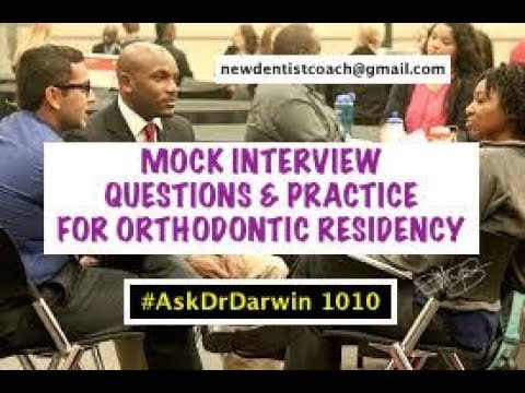 Mock Interview Questions & Practice for Ortho Residency | #A