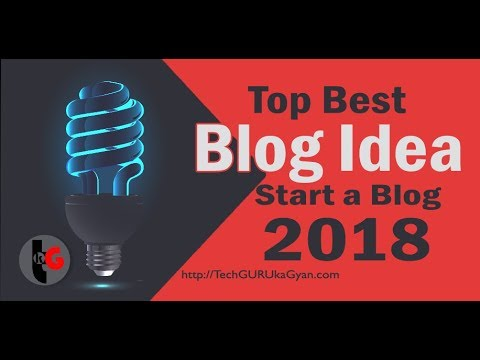 best blogging ideas to make money online in 2018 Hindi