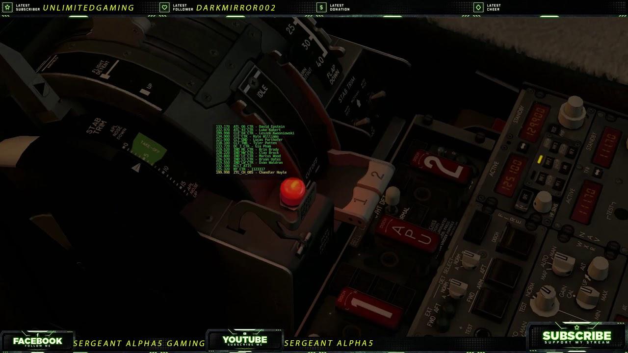 Xplane 11- Charlotte to Boston Night Flight | VatSim
