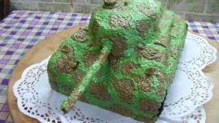 торт танчик