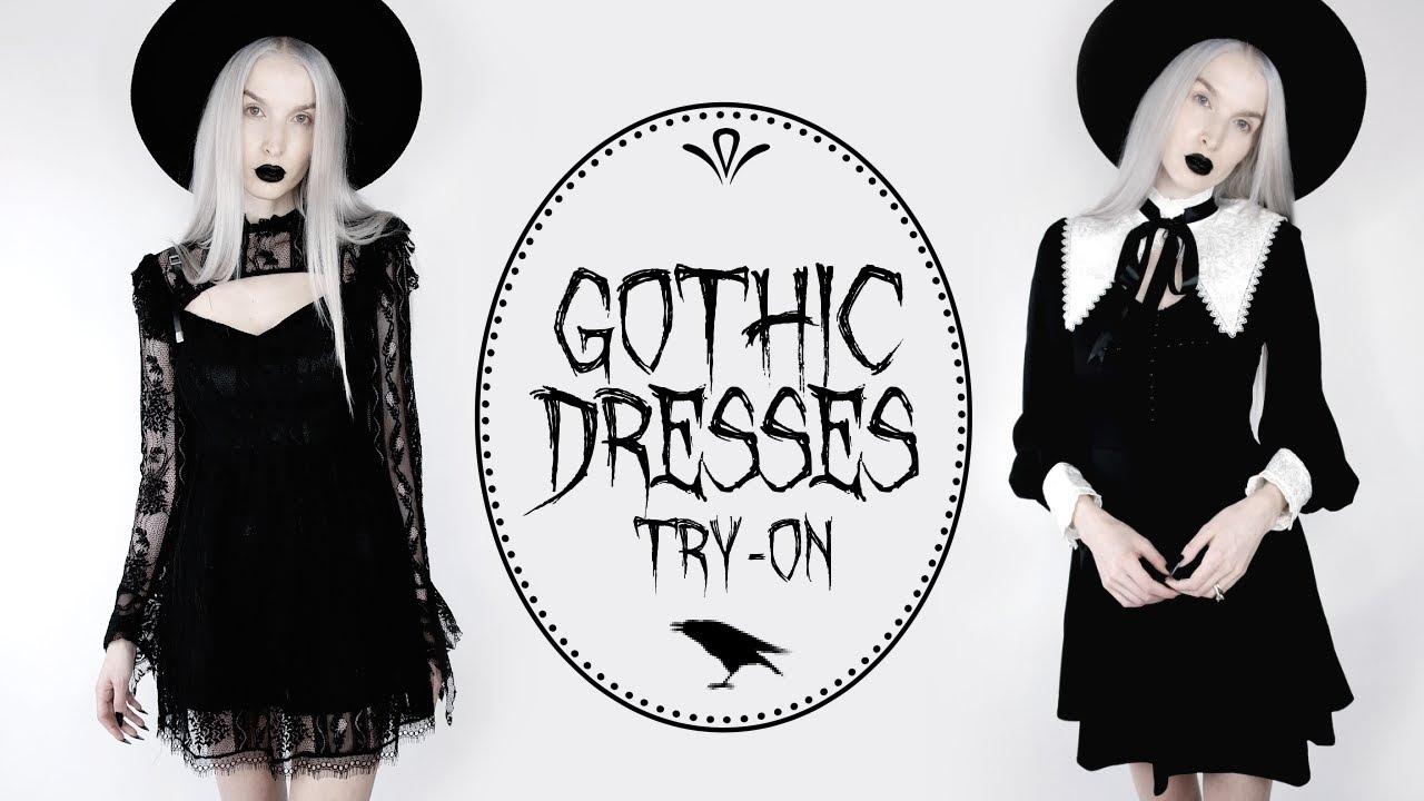 Gothic Dress Try-On   Devil Night