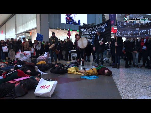 Klimatdemonstrationen i Göteborg 29 november: