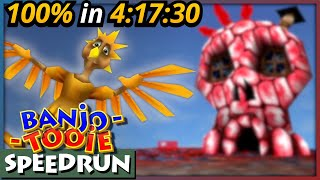 Banjo-Tooie 100% Speedrun in 4:17:30 (RTA)