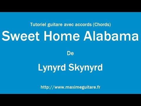 Sweet Home Alabama (Lynyrd Skynyrd) - Tutoriel guitare avec accords ...