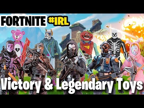 New Fortnite Toys 2019 - Jazwares Legendary And Victory Series