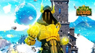 THE GOLD ICE KING IS HERE!!! - Fortnite Short Film