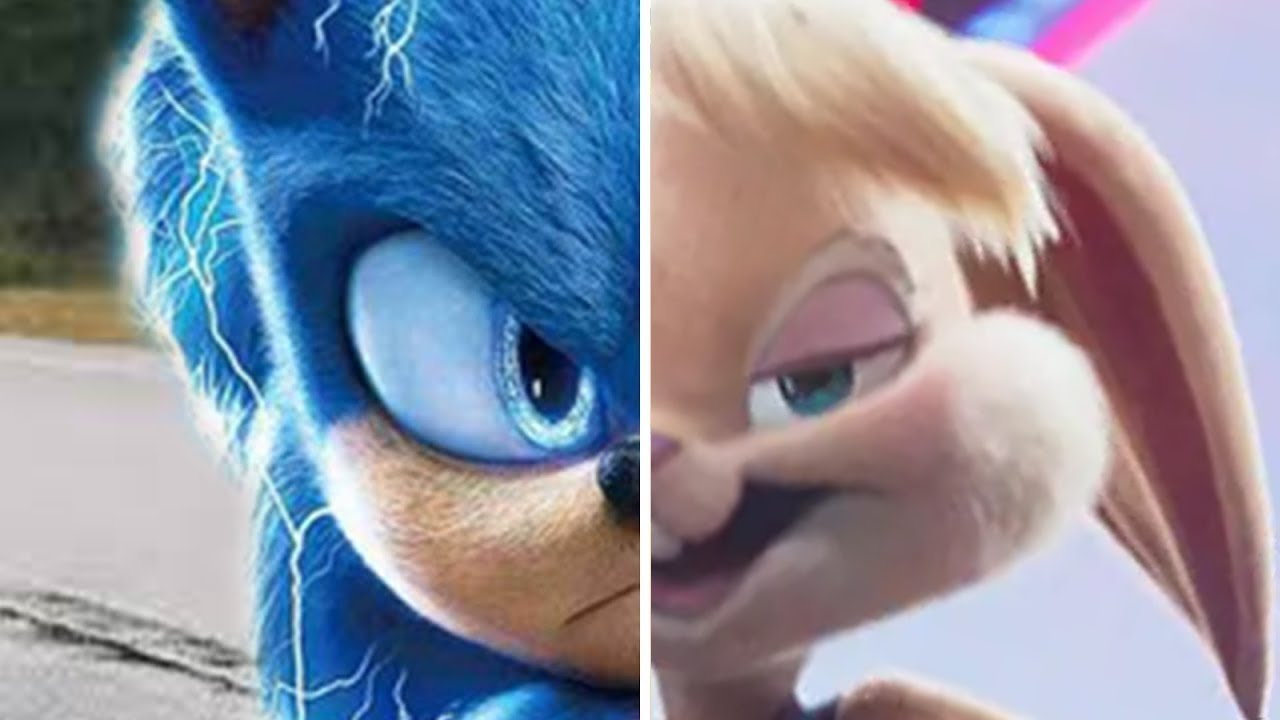 Sonic vs Space Jam A New Legacy Sonic The Hedgehog Movie Choose Your Favorite Design Both Characters
