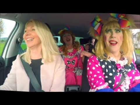 Cinderella Ugly Sisters Carpool Karaoke