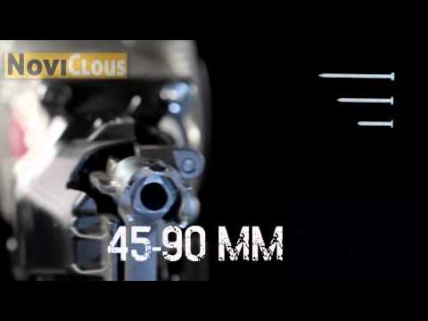NOVICLOUS - Vidéo Cloueur MAX HN90 HAUTE PRESSION
