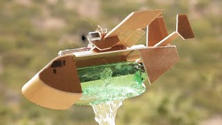 Water Dropping RC Airplane