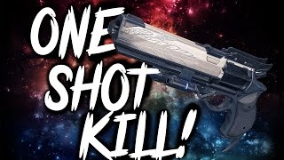 Destiny: Hawkmoon ONE SHOT KILL! The Best Exotic Primary!