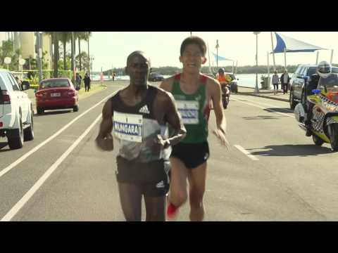 Kenneth Mungara   2016 Gold Coast Airport Marathon