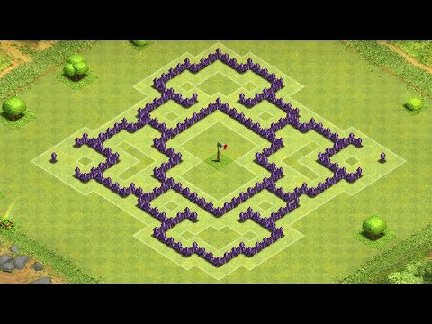 Clash of Clans - Awesome Town Hall 7 Trophy/Clan War Base