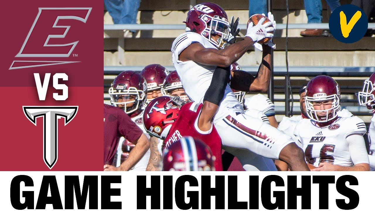 Eastern Kentucky vs Troy Highlights | Week 7 2020 College Football Highlights