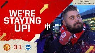 WE'RE STAYING UP! MAN UTD 3-1 BRIGHTON | Stephen Howson Fan Cam