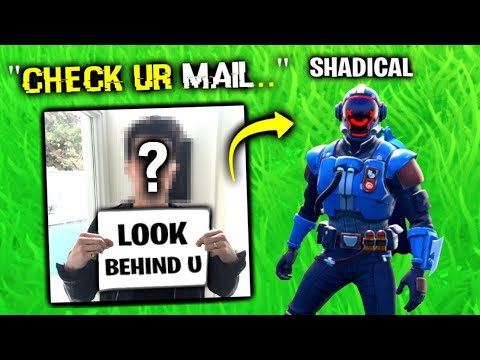 He Sent THIS To My HOUSE.. (Fortnite)