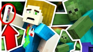 THE SELFIE DUEL!! RUN FROM THE ZOMBIES!! - Minecraft