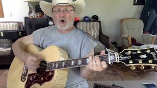 1880 -  A White Sport Coat -  Marty Robbins vocal & acoustic guitar cover with chords