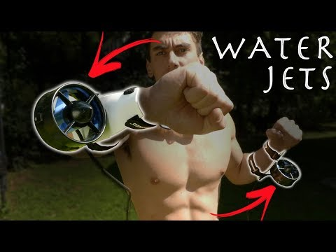 How To Make Wrist Water Propellers! - Underwater Thrusters!!! (Become Aquaman)