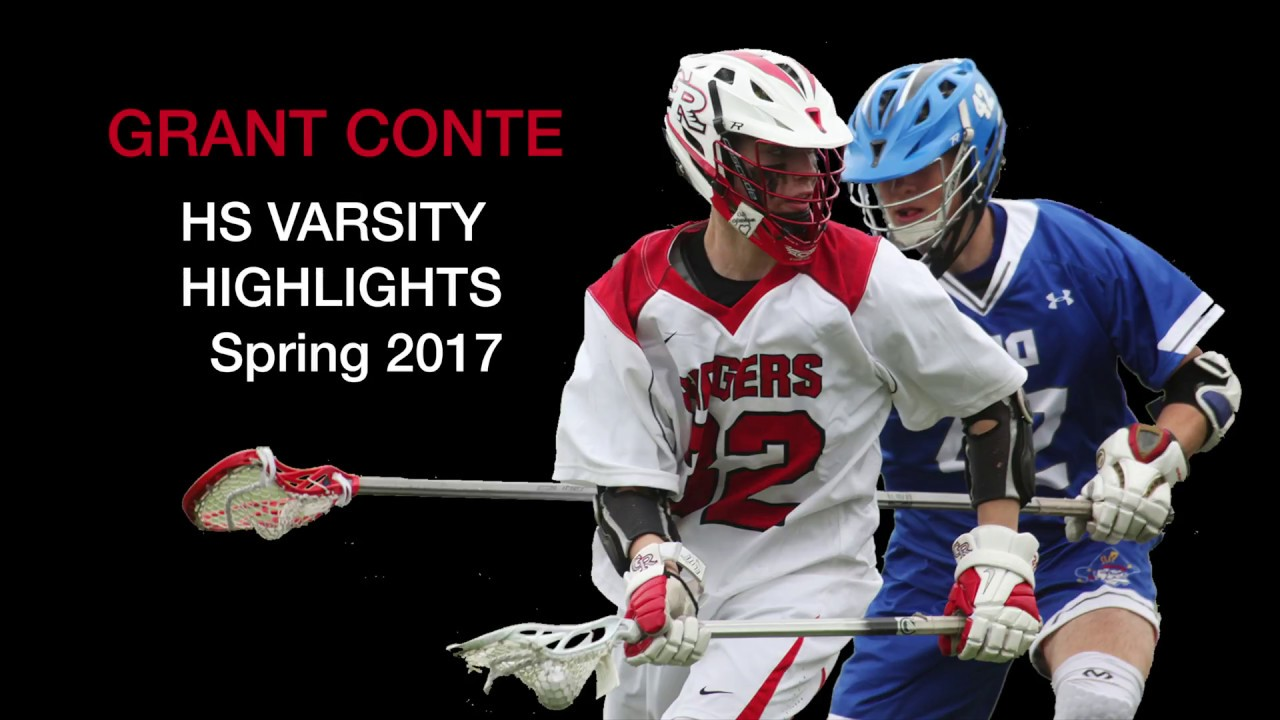Grant Conte - 2020 Attack - Freshman Varsity Lacrosse Highlights - Spring  2017