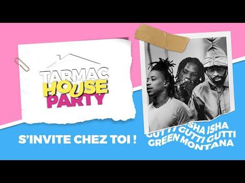 Youtube: ISHA, GREEN MONTANA ET GUTTI en showcase privé: TARMAC HOUSE PARTY #2