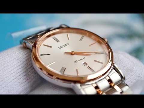 Обзор женских часов Seiko Premier SXB430P1