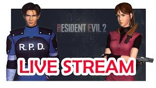 Resident Evil 2 LIVE STREAM! Friday March 8th @12:00 PM EST!