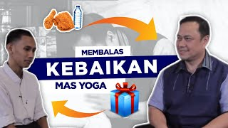 RAMADHAN BERSAMA ARY GINANJAR eps 9 - Membalas Kebaikan Mas Yoga Alfamart di Video Baim Wong part 2
