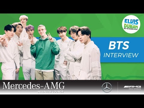 BTS Calls Ed Sheeran 'Santa Claus' After He Gave Them The Greatest Gift | Elvis Duran Show