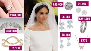 Meghan's collection worth £1MILLION after receiving some VERY expensive wedding gifts