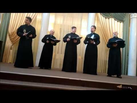 Russian Orthodox Male Choir from St. Petersburg