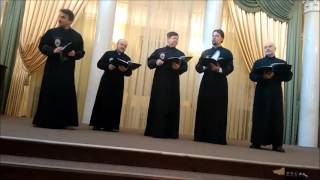 Russian Orthodox Male Choir from St Petersburg