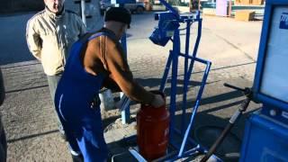 видео заправка бытовых газовых баллонов