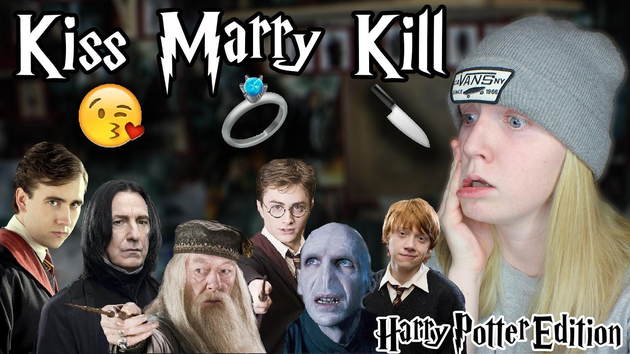 kiss  marry  kill - harry potter edition