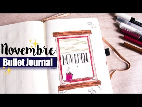 PLAN WITH ME | Bullet Journal NOVEMBRE (Cocooning & Hygge)