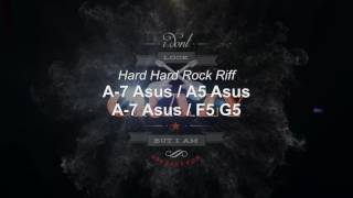 Hard Hard Rock Jamtrack ( Am )