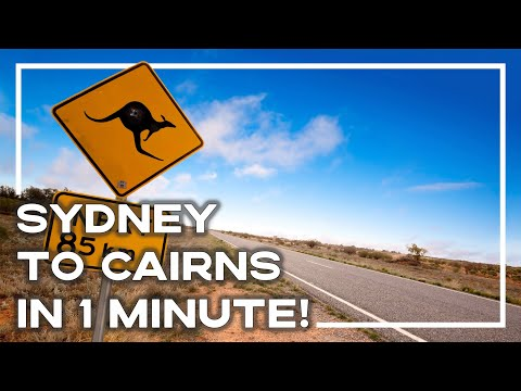 Travelling East Coast Australia - Sydney To Cairns In 1 Minute! 🇦🇺 (Inc Top Tours)