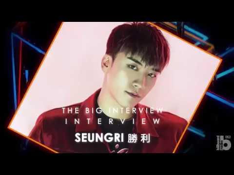 Billboard Radio China - BIG BANG 勝利Seungri (The Big Interview)