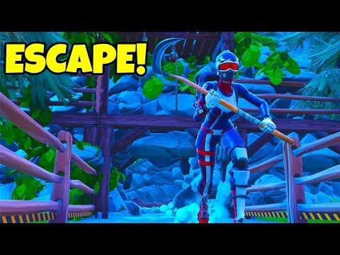 CAN I ESCAPE THIS MAP? Fortnite Creative  BringItAll Block Party NFL Pro Bowl