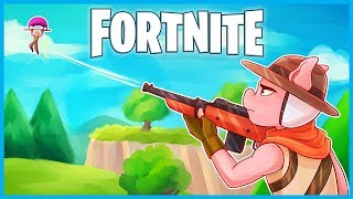 I'M THE BEST HUNTING RIFLE SNIPER in Fortnite: Battle Royale! (Fortnite Funny Moments & Fails)